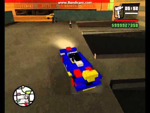Gta San Andreas Lego Car Mod Youtube