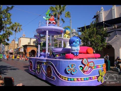 Disney-Pixars Inside Out Pre-Parade Disney California Adventure -  Disneyland Resort