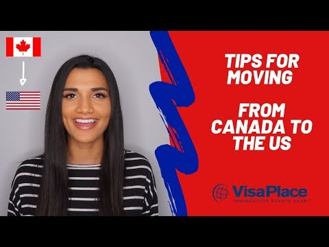 How To Move From Canada To The US In 2020