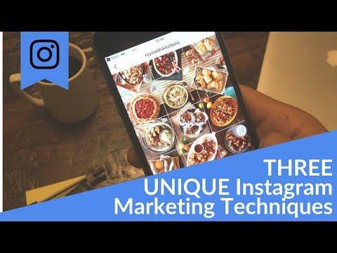 Three Unique Instagram Marketing Techniques