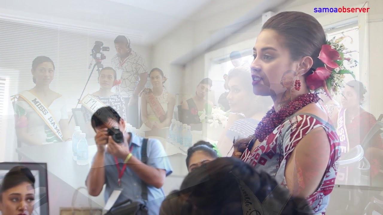 Miss Samoa contestants visit Ford, Samoa Observer - Dauer: 112 Sekunden