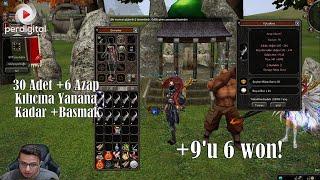 30 Adet +6 Azap Kılıcına Yanana Kadar +Basmak - Metin2 TR #171