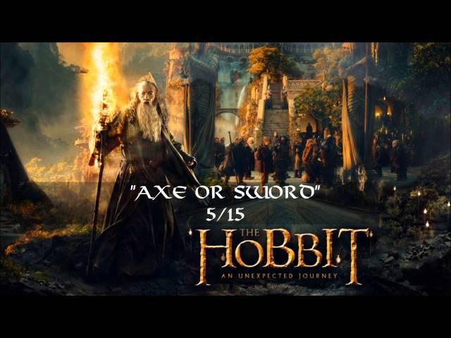 05. Axe or Sword 1.CD - The Hobbit: an Unexpected Journey