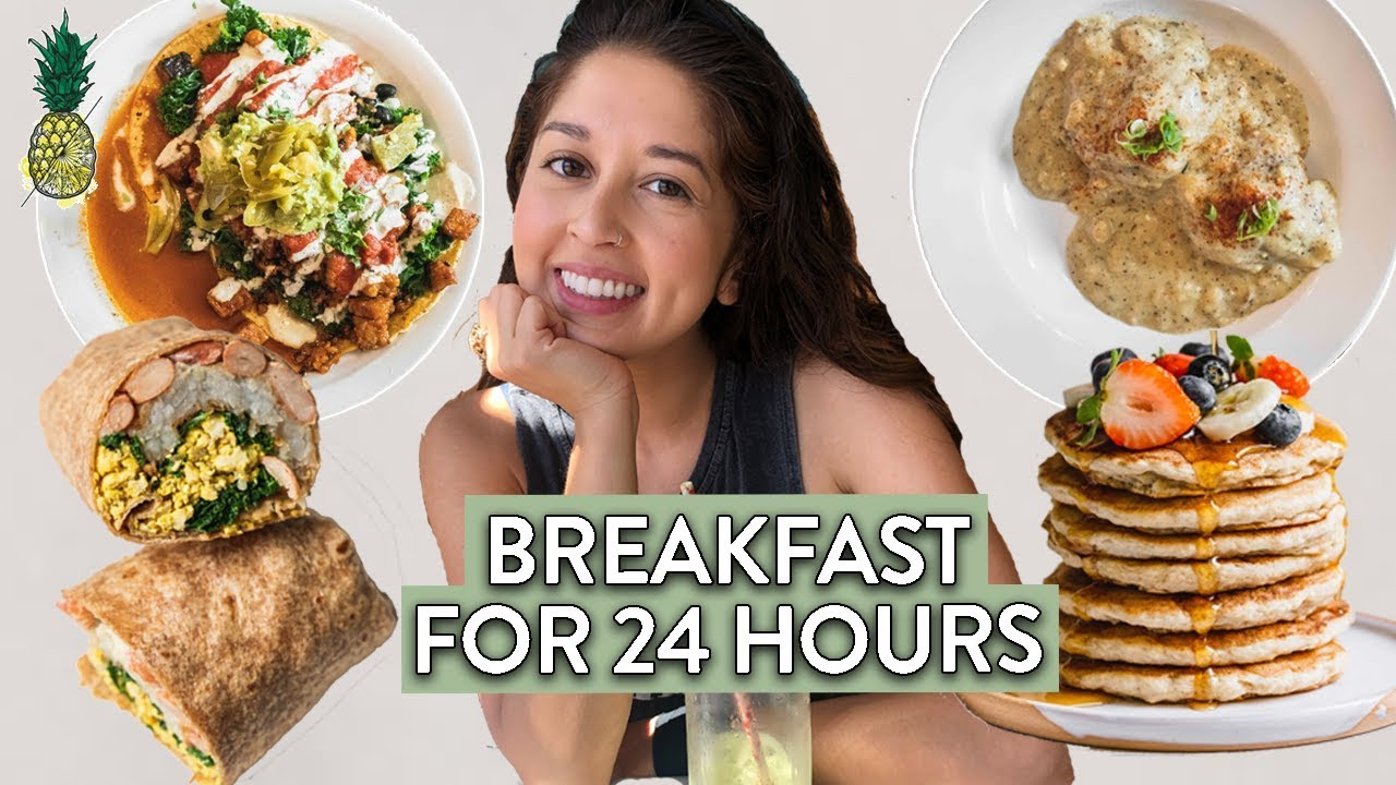 Eating Only Breakfast Foods for 24 Hours (Challenge)