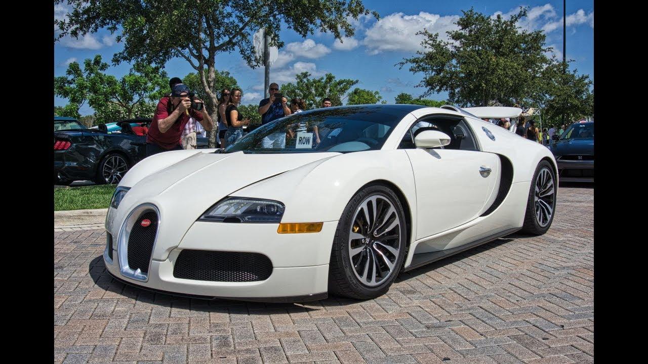 Lamborghini Bugatti Ferrari World\u0027s Best Supercars drive by at Cars and  Coffee Palm Beach