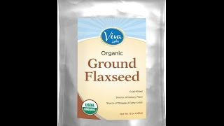 Viva Labs - The BEST Organic Ground Flax Seed | Review