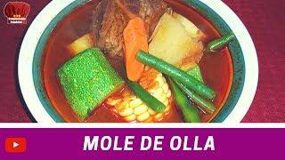 MOLE de OLLA receta- Complaciendo Paladares