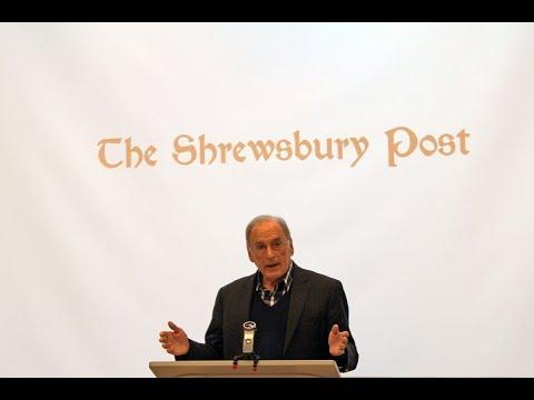 Moe Boisvert speech at the Shrewsbury Post 4th anniversary