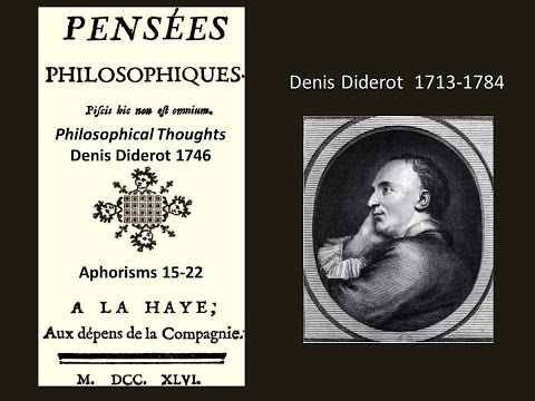the life and works of denis diderot Denis diderot - youth and marriage - diderot was the son of a widely respected master cutler he was tonsured in 1726 late life and works.
