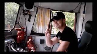 Смотреть видео видео из кабины машиниста локомотива
