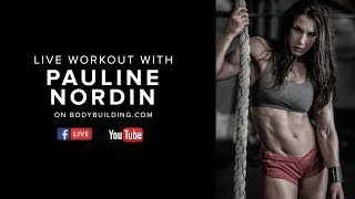 Shredded Shoulders & Abs Workout | Pauline Nordin