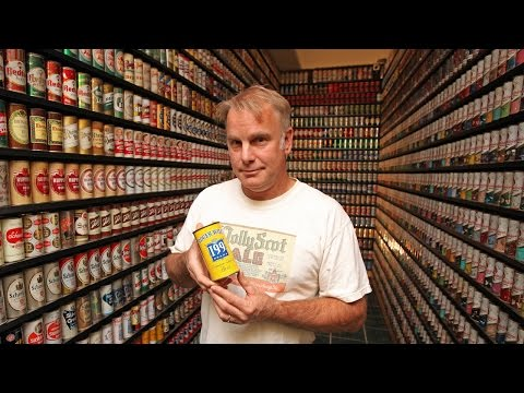 Is This The World's Biggest Beer Can Collection?