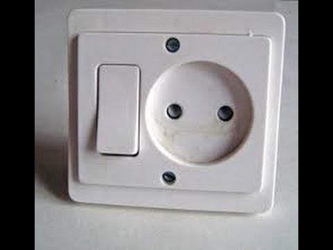Prise avec interrupteur
