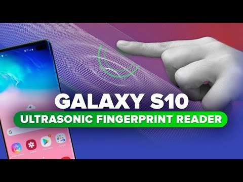 Yes, the Galaxy S10's ultrasonic fingerprint reader matters
