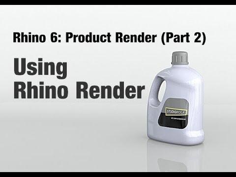 Rhino 6 - Product Rendering Tutorial (Part 2) Rhino Render