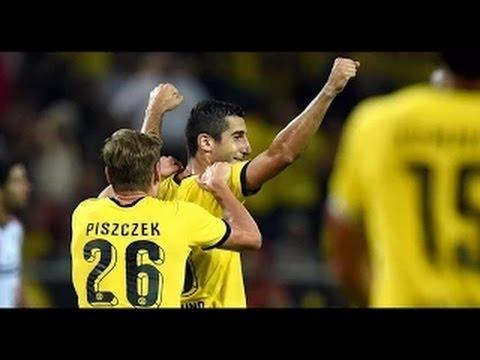 Borussia Dortmund Vs Wolfsberger 5-0 ~ ALL GOALS ( Europa League 2015 ) 06/08/2015 HD