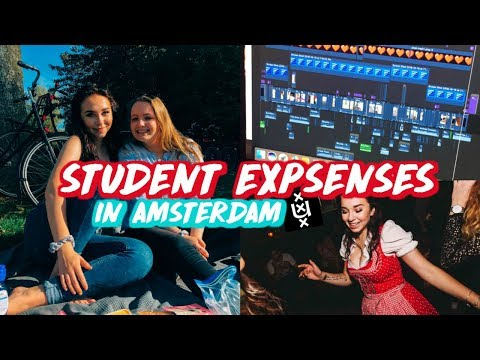 THE REAL COST OF STUDYING ABROAD FULL TIME | University of Amsterdam