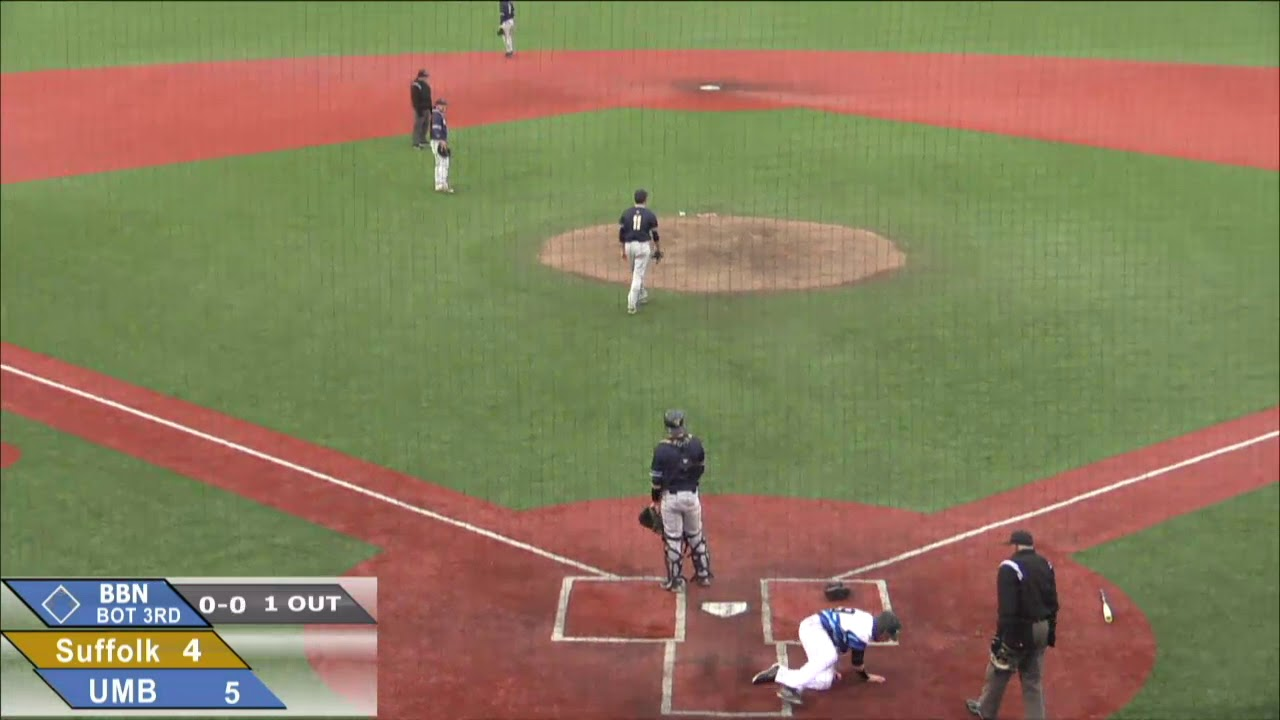 Umass Boston Baseball Vs Suffolk University Highlights 4 18 19 Youtube