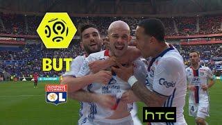 But Christophe JALLET (36') / Olympique Lyonnais - Toulouse FC (4-0) -  / 2016-17
