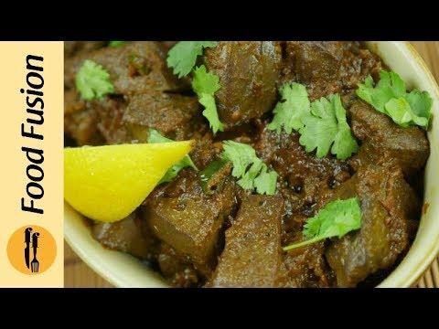 Fry Kaleji Masala Recipe By Food Fusion (Eid Recipe)