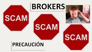 Listado de brokers que son una estafa
