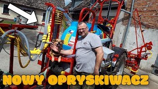 Nowy Opryskiwacz Ciągany! ☆ [Vlog#51] Marek Zadowolony ! ☆Biardzki