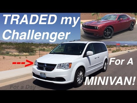 2016 Dodge Grand Caravan SXT 3.6l V6 Review Overview and First Impressions