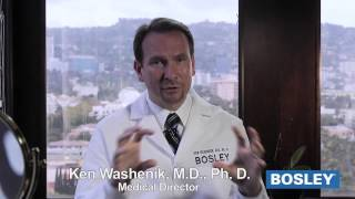 Bosley Medical Dr. Ken Washenik - Propecia vs Rogaine Effectiveness