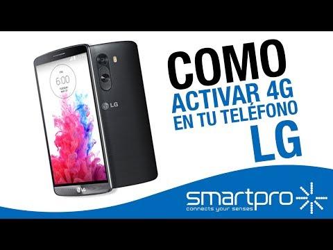 Como activar 4G en tu smartphone LG