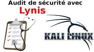 Lynis audit de sécurité sous Kali Linux