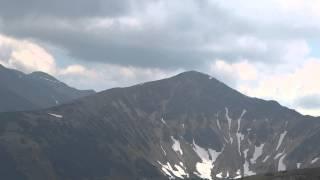 Panorama Tatr z Grzesia 1653m full hd 7/6/2014 na statywie zoom 200x