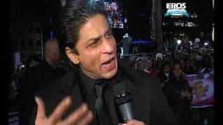 SRK - Om Shanti Om Premiere in UK