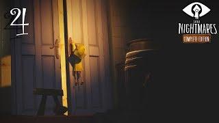 Little Nightmares прохождение на геймпаде часть 4 Знакомство с двумя людоедами