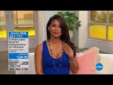 HSN | Colleen Lopez Gemstone Jewelry 03.05.2018 - 06 PM