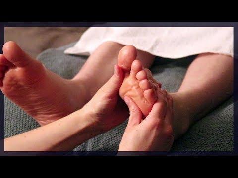 Foot Massage with Oil ~ Both Feet ~ ASMR