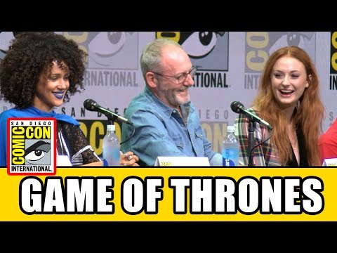 GAME OF THRONES Comic Con 2017 Panel - News, Season 7 & High
