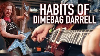 Habits of Dimebag Darrell