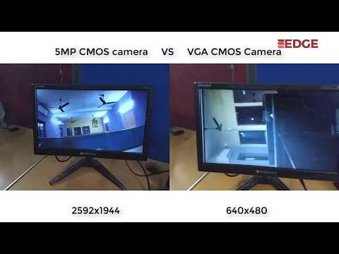 VGA Camera Vs 5MP Camera demo on EDGE Zynq SoC FPGA kit using Xilinx VITIS 2019.2