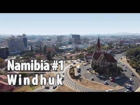 Namibia part1: Windhuk Christuskirche (Christ Church), Alte