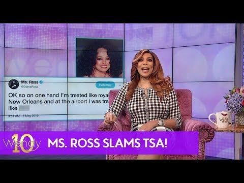 Diana Ross Lashes Out at TSA