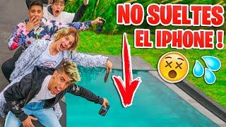 EL ULTIMO EN DEJAR CAER EL IPHONE GANA UN IPHONE 11 !!!