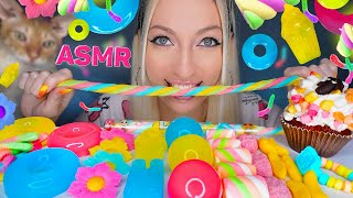 ASMR EATING JELLY FOOD, MARSHM…