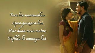 Gambar cover Sanam Teri Kasam Title Track Full Song  (Lyrics) ▪ Ankit Tiwari & Palak Muchhal ▪ Himesh Reshammiya