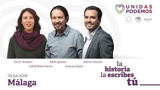Unidas Podemos en la Universidad de Málaga