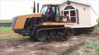 Cat Moving Trailer House