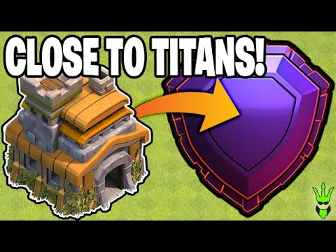 CLOSING IN ON TITANS! TH7 In CHAMPS 1 - Clash Of Clans