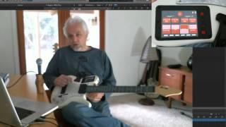 Lineage MIDI Guitar:  Performance Screens