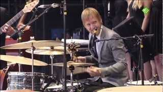 Kyteman Orchestra live! The Mushroom Cloud & Angry at the World [HD] - Pinkpop 2012