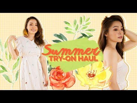 Đồ Mùa Hè Trinh Mới Mua ♡ Summer Try- On Haul ♡ TrinhPham