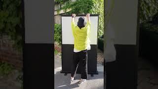 빔스크린 유압형 간편하게 설치!